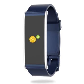 MyKronoz ZeFit 4 HR Activity Tracker Blauw en Zilver met hartslagsensor