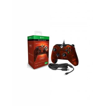 Mannette Xbox One filaire PDP Orange