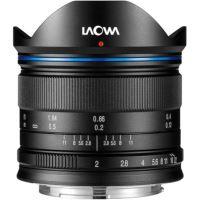 Laowa 7.5mm f/2 MFT Standaard Vaste Brandpuntafstand Lens Zwart