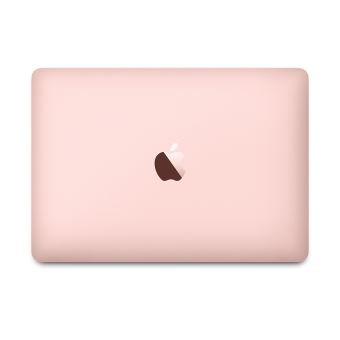 """Apple MacBook 12"""" Retina 256 Go Flash 8 Go RAM Intel Core m3 bicœur à 1.1 GHz FMGL2FN/A Or rose reconditionné certifié Apple"""