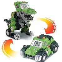 Véhicule transformable interactif Vtech Switch et Go Dinos Drex Super T-Rex Jeep