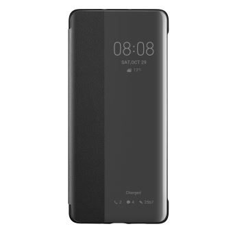 Huawei P30 Pro View Flip Cover Black
