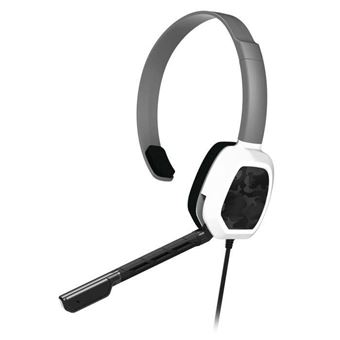 Micro-casque PDP Afterglow LVL 1 Blanc pour Xbox One