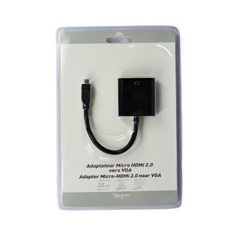Adaptateur Temium HDMI Mâle vers VGA Femelle
