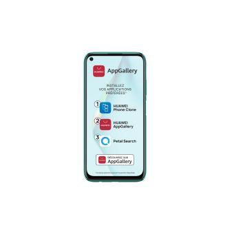 Smartphone Huawei P40 Lite Double SIM 128 Go Vert écrasé