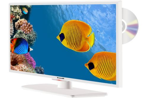 TV Brandt B2441WHD LED Blanc 24