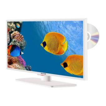 "TV Brandt B2441WHD LED COMBO DVD Blanc 23,8"""