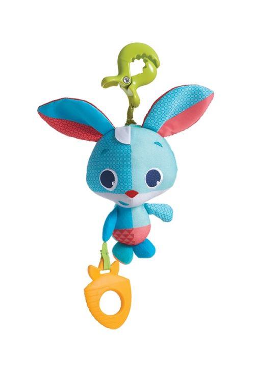 Jouet clipsable à vibration Tiny love Friends Thomas le lapin Bleu