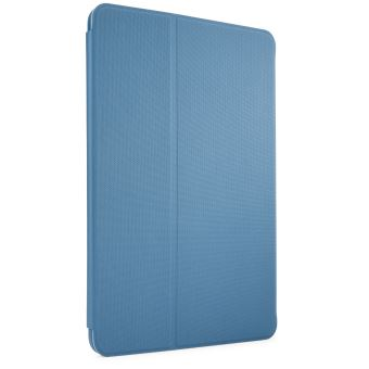 Coque CaseLogic Folio bleu métallique pour Ipad 10.2''