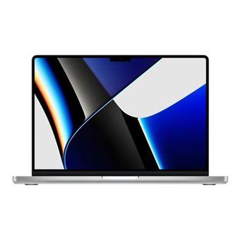 Apple MacBook Pro 14'' 512 Go SSD 16 Go RAM Puce M1 Pro CPU 8 cœurs GPU 14 cœurs Argent Nouveau