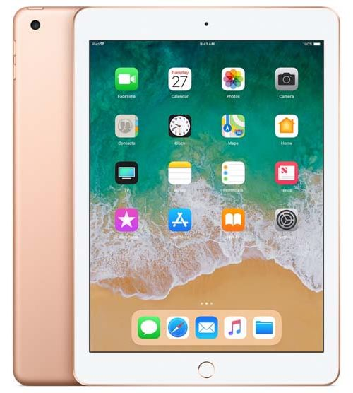 Apple iPad 128 Go WiFi Or 9.7 Nouveau