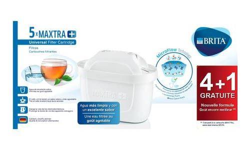Pack de 4+1 filtres Brita Maxtra+