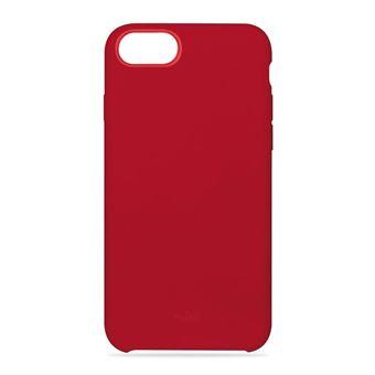 Puro Icon Semi Rigid Hoes Rood voor iPhone 6, 6s, 7 en 8
