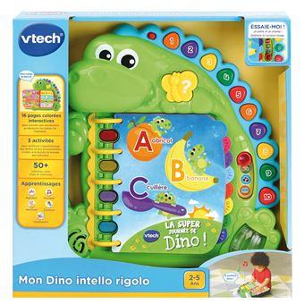 Livre Interactif Vtech Baby Mon Dino Intello Rigolo