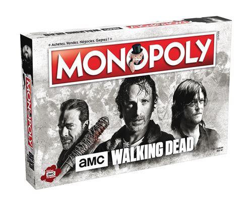 Jeu de société Monopoly The Walking Dead Série télé Winning Moves