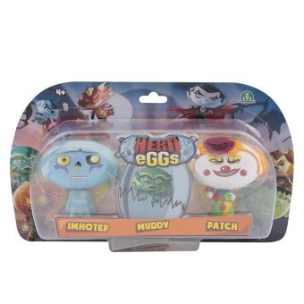 Figurines Hero egg Blister 3 Hero eggs Muddy Imhotep Patch