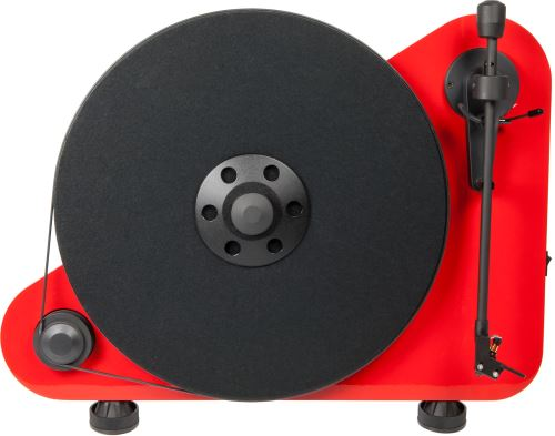 Platine Vinyle Pro-Ject VT-E Rouge