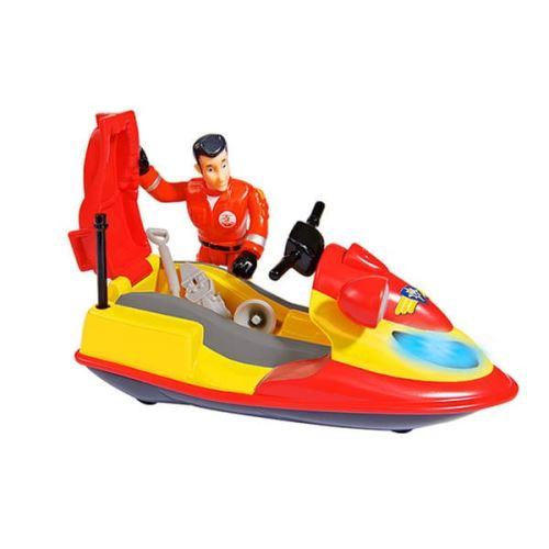 Jet Ski Simba Juno avec Figurine Elvis Sam le Pompier