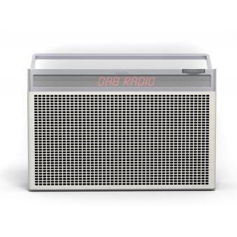 Radio numérique portable Bluetooth FM et DAB+ Geneva Touring L Blanche
