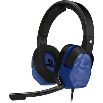 Micro-casque PDP Afterglow LVL 3 Bleu pour PS4