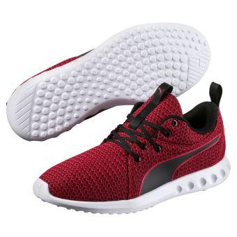 2 Carson 41 Chaussures Noires Puma Et Rouges Knit Taille Ow8nP0k