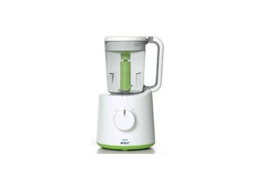 Mixeur cuiseur Philips Avent SCF 870/23 Blanc et Vert