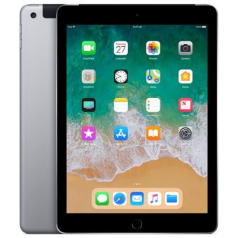 "Apple iPad 128 Go WiFi + 4G 9.7"" Space Grey"
