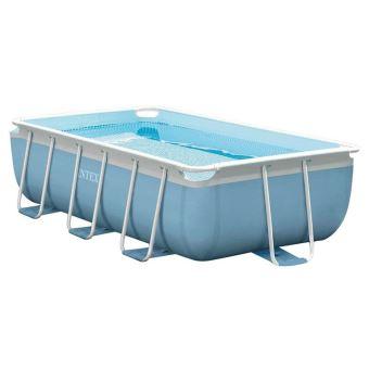 Kit piscine tubulaire Intex Prism Frame 28314FS 3 x 1,75 x 0,8 m Rectangulaire Bleu