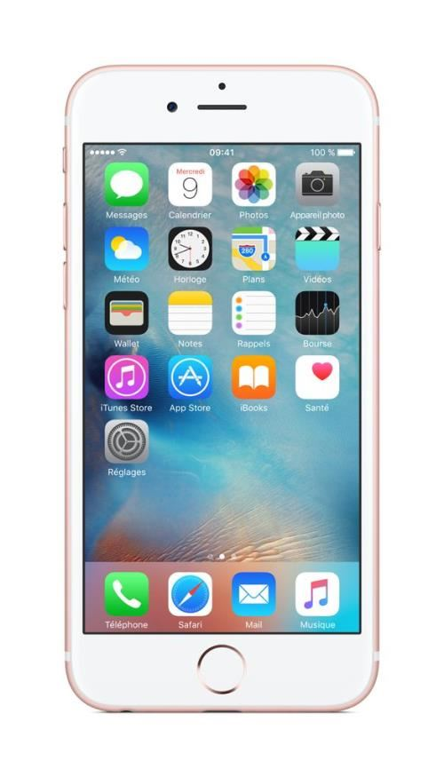 Apple iPhone Remade 6s 16 Go 4.7'' Or Rose Reconditionné A++