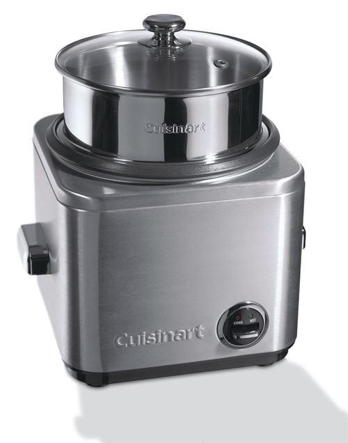 Cuiseur à riz et céréales multifonctions Cuisinart CRC800E 650 W Gris