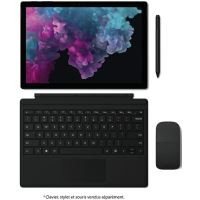 "PC Hybride Microsoft Surface Pro 6 12.3"" Tactile Intel Core i5 8 Go RAM 256 Go SSD Noire"