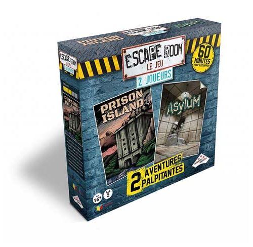 Coffret De 2 Jeux Identity Games Escape Room Réalité Virtuelle Jeu D Ambiance Achat Prix Fnac
