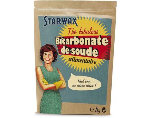 Bicarbonate de soude alimentaire Starwax The fabulous 1Kg
