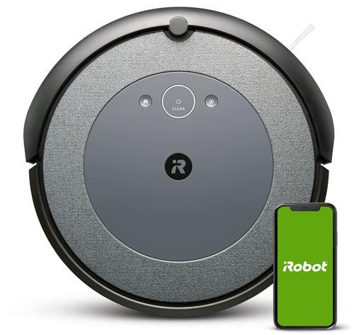 Aspirateur robot Irobot Roomba I3 Noir et Gris