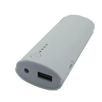 Batterie externe Temium PowerBank 4400 mAh Blanc