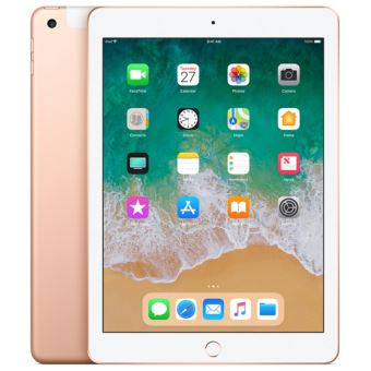 "Apple iPad 128 Go WiFi + 4G 9.7"" Goud Nieuw"