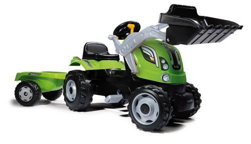Tracteur Farmer Max Smoby + Remorque