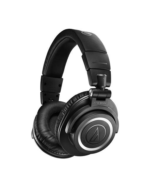 Casque circum-aural sans fil Audio-Technica ATH-M50xBT2 Bluetooth Noir