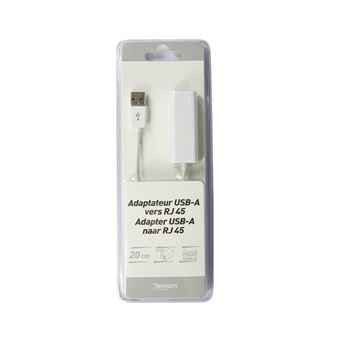 Adaptateur Temium USB vers Ethernet RJ45