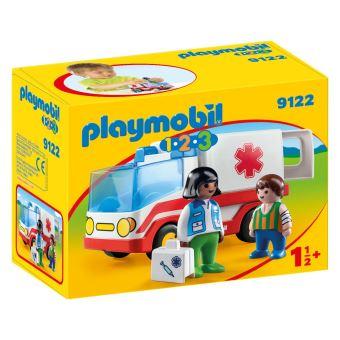 playmobil 1 2 3 9122 ambulance