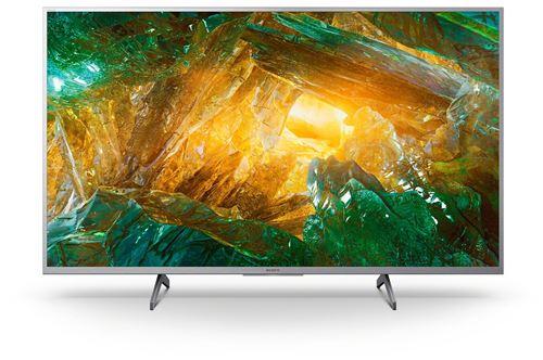 """Plus de détails TV Sony KD43XH8077SAEP 4K HDR LED Smart TV 43"""" Argent"""
