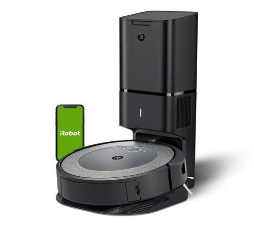 Aspirateur robot Irobot Roomba i3+ Noir et Gris