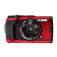 Olympus Tough TG-6 Compact Camera Rood