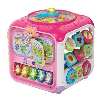 Super cube de d couverte vtech baby rose jeu d 39 veil achat prix fnac - Un cube dans mon jardin prix ...