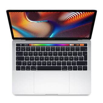 Apple MacBook Pro 13.3'' Touch Bar 256 Go SSD 8 Go RAM Intel Core i5 quadricœur à 2.3 GHz Argent Nouveau