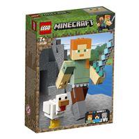LEGO® Minecraft™ 21149 Bigfigurine Minecraft™ Alex et son poulet
