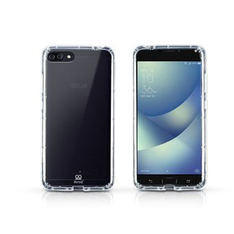 Pack Asus ZenFone 4 Max Double SIM 16 Go Noir + Coque Hybride + Protection d'écran en verre trempé