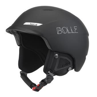 5 Sur Casque De Ski Bollé Beat Soft 61 63 Cm Noir Protection