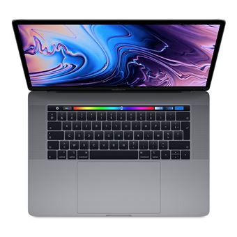 Ordinateur Portable Apple MacBook Pro 15.4'' Touch Bar 512 Go SSD 16 Go RAM Core i7 hexacœur à 2.6 GHz Gris sidéral