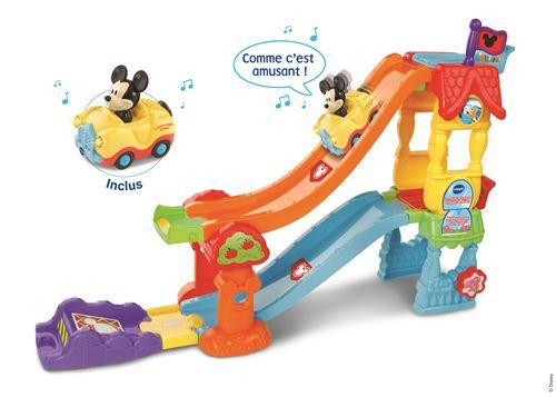Playset Vtech TTB La Maison-toboggan Mickey avec cabriolet